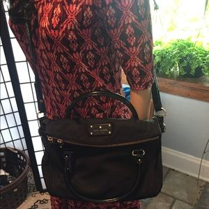 Kate Spade Black crossbody hand bag